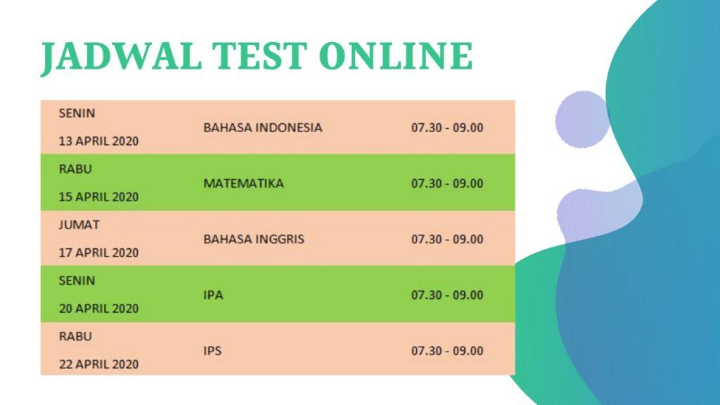 SMP Islam PB Soedirman - Jadwal Tes Online PH-2 dan Jadwal ...