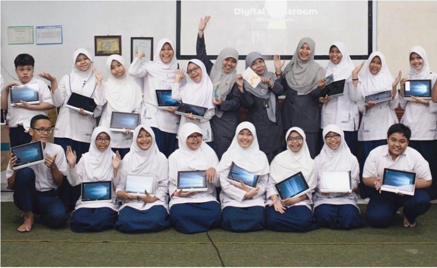 Persiapan Smart Classroom Bersama WOTK Kelas VII